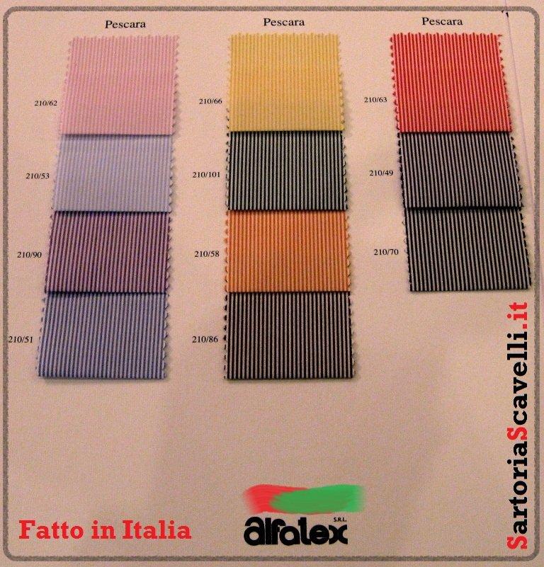 Alfatex tessuti in cotone, lino, seta per camicie sartoriali. 4