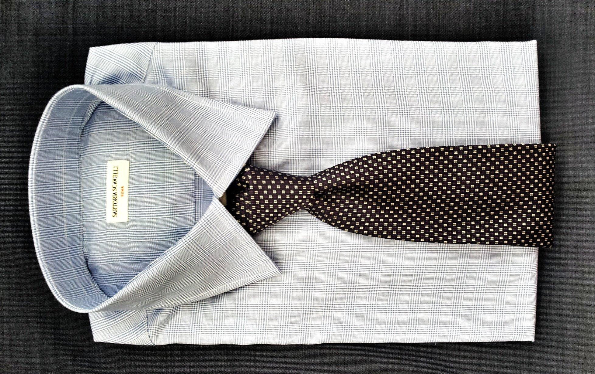 Camicia e Cravatta ~ Sartoria Scavelli Roma