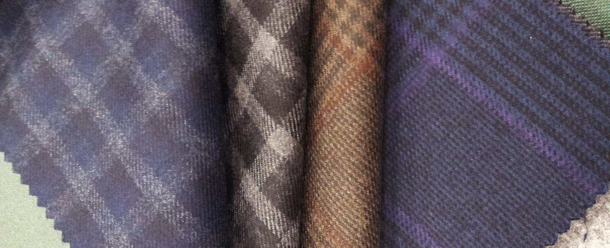 Dormeuil tessuti in lana pettinata per Giacche ~ Sartoria Scavelli Roma