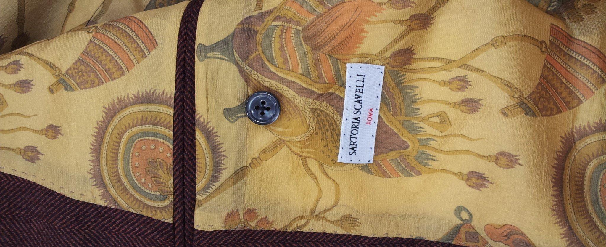 Giacca su misura in lana/cashmere ~ Sartoria Scavelli Roma